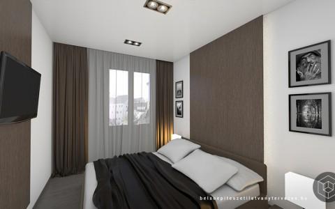 Lakás 3d látványtervezés