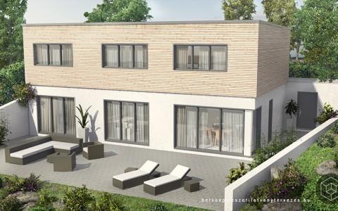 Építészeti látványtervezés családi ház építéshez