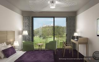 Építészeti látványtervezés hotel tervezéshez