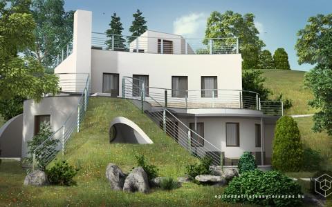 Dombház látványterv készítés – építészeti látványtervezés