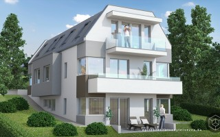 Építészeti látványtervezés – lakóház látványterv