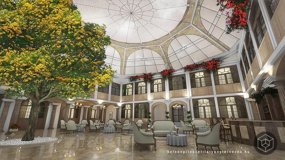 Hotel 3d látványtervezés